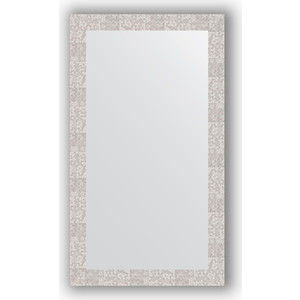 Зеркало в багетной раме поворотное Evoform Definite 66x116 см, соты алюминий 70 мм (BY 3211) зеркало в багетной раме поворотное evoform definite 56x76 см соты алюминий 70 мм by 3051