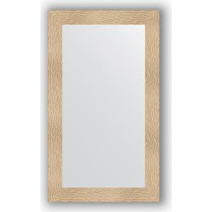 Зеркало в багетной раме поворотное Evoform Definite 70x120 см, золотые дюны 90 мм (BY 3213) цена 2017