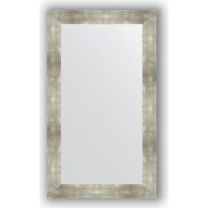 Зеркало в багетной раме поворотное Evoform Definite 70x120 см, алюминий 90 мм (BY 3218) зеркало evoform by 3312