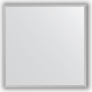 Зеркало в багетной раме Evoform Definite 66x66 см, хром 18 мм (BY 3225) зеркало в багетной раме evoform definite 66x66 см сталь 20 мм by 1019