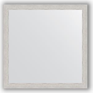 Зеркало в багетной раме Evoform Definite 71x71 см, серебрянный дождь 46 мм (BY 3229) зеркало в багетной раме evoform definite 71x71 см мозаика хром 46 мм by 3228