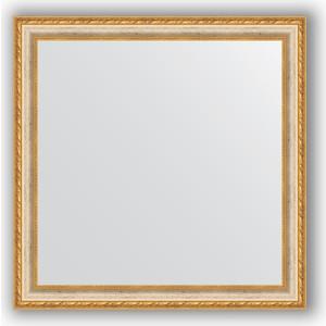 Зеркало в багетной раме Evoform Definite 75x75 см, версаль кракелюр 64 мм (BY 3237) зеркало в багетной раме evoform definite 75x75 см версаль кракелюр 64 мм by 3237