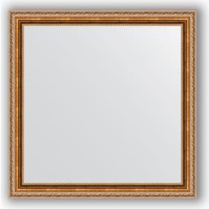 Зеркало в багетной раме Evoform Definite 75x75 см, версаль бронза 64 мм (BY 3239) зеркало в багетной раме evoform definite 75x75 см версаль кракелюр 64 мм by 3237