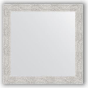 Зеркало в багетной раме Evoform Definite 76x76 см, серебреный дождь 70 мм (BY 3240) зеркало в багетной раме поворотное evoform definite 76x136 см серебреный дождь 70 мм by 3304