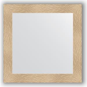 Зеркало в багетной раме Evoform Definite 80x80 см, золотые дюны 90 мм (BY 3245)