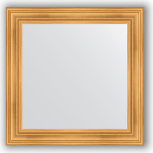 Зеркало в багетной раме Evoform Definite 82x82 см, травленое золото 99 мм (BY 3251) цены онлайн