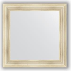 Зеркало в багетной раме Evoform Definite 82x82 см, травленое серебро 99 мм (BY 3252) sonex istra 3252
