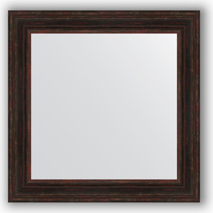 все цены на Зеркало в багетной раме Evoform Definite 82x82 см, темный прованс 99 мм (BY 3254) онлайн