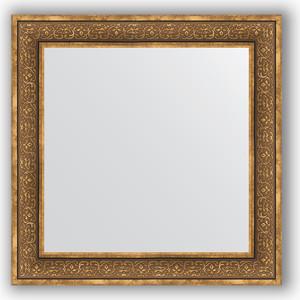 Зеркало в багетной раме Evoform Definite 83x83 см, вензель бронзовый 101 мм (BY 3255) зеркало evoform by 3372