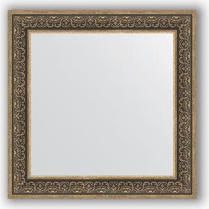 Зеркало в багетной раме Evoform Definite 83x83 см, вензель серебряный 101 мм (BY 3256) зеркало в багетной раме поворотное evoform definite 63x83 см вензель серебряный 101 мм by 3064