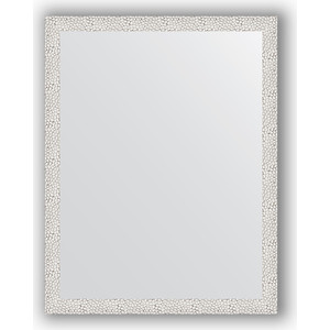 Зеркало в багетной раме поворотное Evoform Definite 71x91 см, чеканка белая 46 мм (BY 3258) зеркало в багетной раме поворотное evoform definite 71x151 см чеканка белая 46 мм by 3322