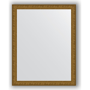 Зеркало в багетной раме поворотное Evoform Definite 74x94 см, виньетка состаренное золото 56 мм (BY 3263)