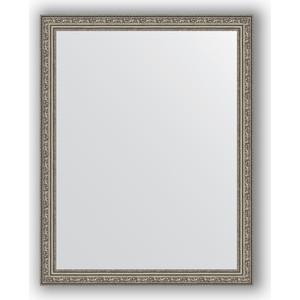 Зеркало в багетной раме поворотное Evoform Definite 74x94 см, виньетка состаренное серебро 56 мм (BY 3264) зеркало в багетной раме поворотное evoform definite 74x134 см виньетка состаренное золото 56 мм by 3295