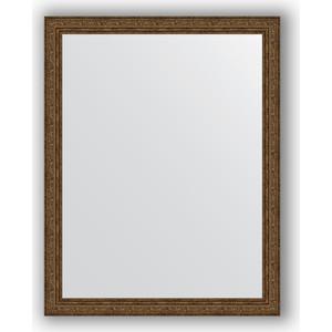 Зеркало в багетной раме поворотное Evoform Definite 74x94 см, виньетка состаренная бронза 56 мм (BY 3265) цена