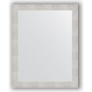 Зеркало в багетной раме поворотное Evoform Definite 76x96 см, серебреный дождь 70 мм (BY 3272) зеркало в багетной раме поворотное evoform definite 56x76 см серебряный дождь 70 мм by 3048