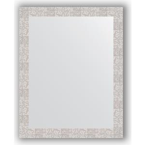 Зеркало в багетной раме поворотное Evoform Definite 76x96 см, соты алюминий 70 мм (BY 3275) зеркало в багетной раме поворотное evoform definite 56x76 см соты алюминий 70 мм by 3051