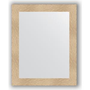 Зеркало в багетной раме поворотное Evoform Definite 80x100 см, золотые дюны 90 мм (BY 3277)