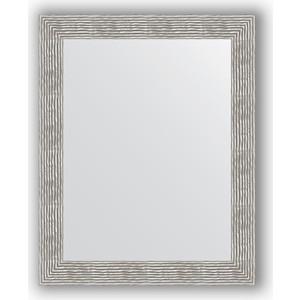 Зеркало в багетной раме поворотное Evoform Definite 80x100 см, волна хром 90 мм (BY 3281) цена