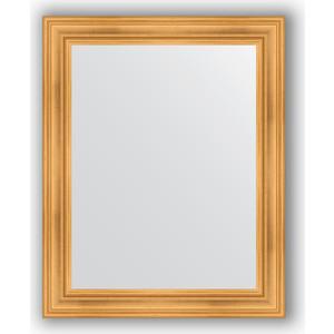 Зеркало в багетной раме Evoform Definite 82x102 см, травленое золото 99 мм (BY 3283) evoform definite 82x162 см травленое золото 99 мм by 3347