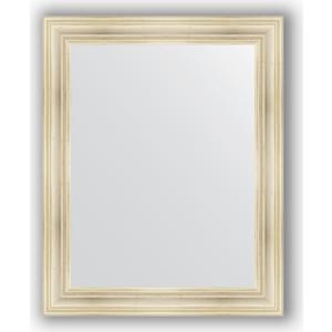 Зеркало в багетной раме поворотное Evoform Definite 82x102 см, травленое серебро 99 мм (BY 3284) зеркало в багетной раме поворотное evoform definite 74x94 см травленое серебро 59 мм by 0684