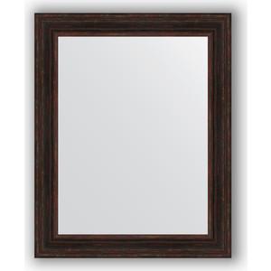 Зеркало в багетной раме поворотное Evoform Definite 82x102 см, темный прованс 99 мм (BY 3286) зеркало в багетной раме поворотное evoform definite 82x102 см травленое серебро 99 мм by 3284