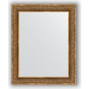 Зеркало в багетной раме поворотное Evoform Definite 83x103 см, вензель бронзовый 101 мм (BY 3287)