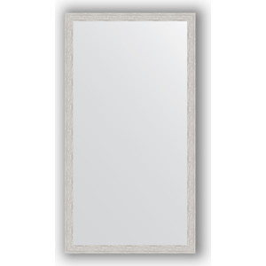 Зеркало в багетной раме поворотное Evoform Definite 71x131 см, серебрянный дождь 46 мм (BY 3293) зеркало в багетной раме поворотное evoform definite 71x151 см мозаика хром 46 мм by 3324