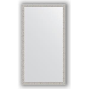 Зеркало в багетной раме поворотное Evoform Definite 71x131 см, волна алюминий 46 мм (BY 3294) губка для мытья посуды фозет мини соты 2 шт
