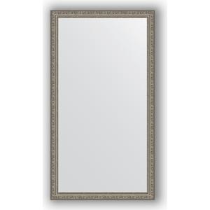 Зеркало в багетной раме поворотное Evoform Definite 74x134 см, виньетка состаренное серебро 56 мм (BY 3296) зеркало в багетной раме поворотное evoform definite 74x134 см виньетка состаренное золото 56 мм by 3295