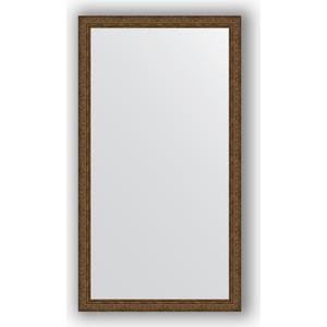 Зеркало в багетной раме поворотное Evoform Definite 74x134 см, виньетка состаренная бронза 56 мм (BY 3297) jet air round an golg a