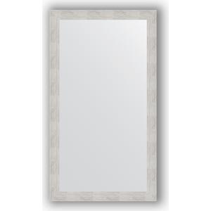 Зеркало в багетной раме поворотное Evoform Definite 76x136 см, серебреный дождь 70 мм (BY 3304) зеркало в багетной раме поворотное evoform definite 76x136 см серебреный дождь 70 мм by 3304