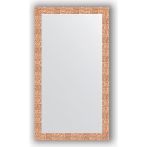 Зеркало в багетной раме Evoform Definite 76x136 см, соты медь 70 мм (BY 3306) evoform definite 76x136 см мозаика античная медь 70 мм by 3305