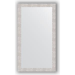Зеркало в багетной раме поворотное Evoform Definite 76x136 см, соты алюминий 70 мм (BY 3307) зеркало в багетной раме поворотное evoform definite 56x76 см соты алюминий 70 мм by 3051