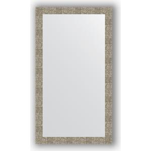 Зеркало в багетной раме поворотное Evoform Definite 76x136 см, соты титан 70 мм (BY 3308) зеркало в багетной раме поворотное evoform definite 76x136 см серебреный дождь 70 мм by 3304
