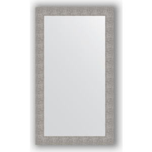 Зеркало в багетной раме поворотное Evoform Definite 80x140 см, чеканка серебряная 90 мм (BY 3311) цена
