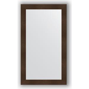 Зеркало в багетной раме поворотное Evoform Definite 80x140 см, бронзовая лава 90 мм (BY 3312) зеркало evoform by 3312