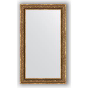 Зеркало в багетной раме поворотное Evoform Definite 83x143 см, вензель бронзовый 101 мм (BY 3319)