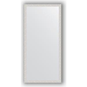 Зеркало в багетной раме поворотное Evoform Definite 71x151 см, чеканка белая 46 мм (BY 3322) зеркало в багетной раме поворотное evoform definite 71x151 см чеканка белая 46 мм by 3322