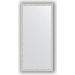 Зеркало в багетной раме поворотное Evoform Definite 71x151 см, серебрянный дождь 46 мм (BY 3325) зеркало в багетной раме поворотное evoform definite 71x151 см мозаика медь 46 мм by 3323