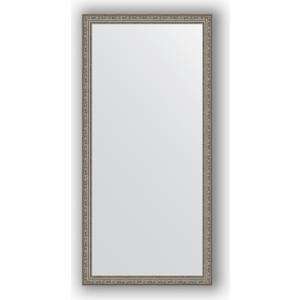 Зеркало в багетной раме поворотное Evoform Definite 74x154 см, виньетка состаренное серебро 56 мм (BY 3328) зеркало в багетной раме поворотное evoform definite 74x134 см виньетка состаренное золото 56 мм by 3295