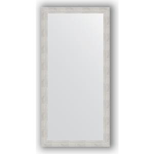Зеркало в багетной раме поворотное Evoform Definite 76x156 см, серебреный дождь 70 мм (BY 3336) зеркало в багетной раме evoform definite 76x76 см серебреный дождь 70 мм by 3240