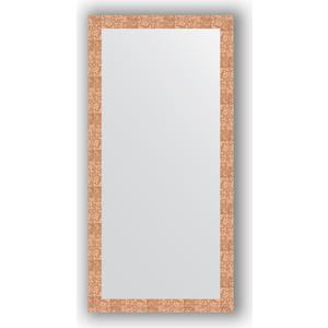 Зеркало в багетной раме поворотное Evoform Definite 76x156 см, соты медь 70 мм (BY 3338) сумка wei emperor paul 3338 2015