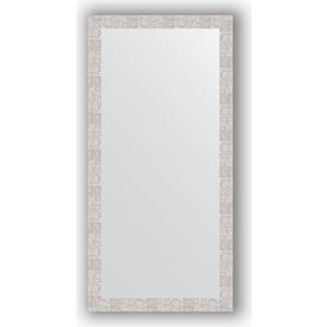 Зеркало в багетной раме поворотное Evoform Definite 76x156 см, соты алюминий 70 мм (BY 3339) зеркало в багетной раме поворотное evoform definite 56x76 см соты алюминий 70 мм by 3051