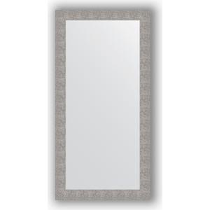 Зеркало в багетной раме поворотное Evoform Definite 80x160 см, чеканка серебряная 90 мм (BY 3343)