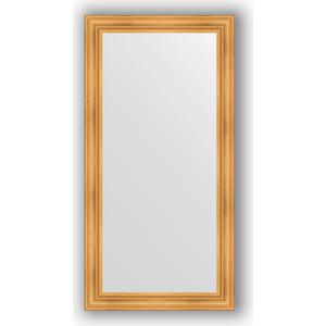 Зеркало в багетной раме Evoform Definite 82x162 см, травленое золото 99 мм (BY 3347) evoform definite 82x162 см травленое золото 99 мм by 3347
