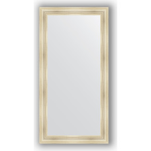 Зеркало в багетной раме поворотное Evoform Definite 82x162 см, травленое серебро 99 мм (BY 3348) зеркало в багетной раме поворотное evoform definite 74x154 см травленое серебро 59 мм by 0769