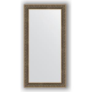 Зеркало в багетной раме поворотное Evoform Definite 83x163 см, вензель серебряный 101 мм (BY 3352) зеркало в багетной раме поворотное evoform definite 63x83 см вензель серебряный 101 мм by 3064