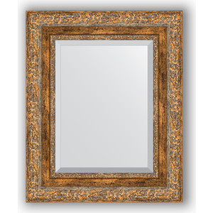 Зеркало с фацетом в багетной раме Evoform Exclusive 45x55 см, виньетка античная бронза 85 мм (BY 3358) risunmotor exclusive customized black