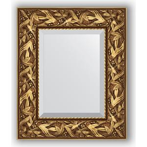 Зеркало с фацетом в багетной раме Evoform Exclusive 49x59 см, византия золото 99 мм (BY 3363) evoform exclusive by 1161