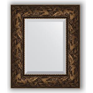 Зеркало с фацетом в багетной раме Evoform Exclusive 49x59 см, византия бронза 99 мм (BY 3365)